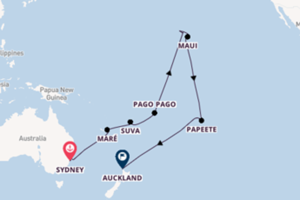 Cruise with Princess Cruises from Sydney