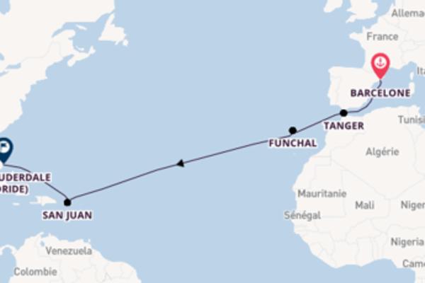 Admirez avec Silversea, la destination: Funchal