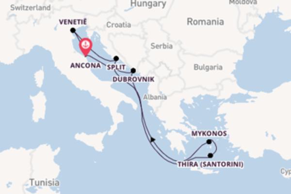 8-daagse reis aan boord van het MSC Lirica