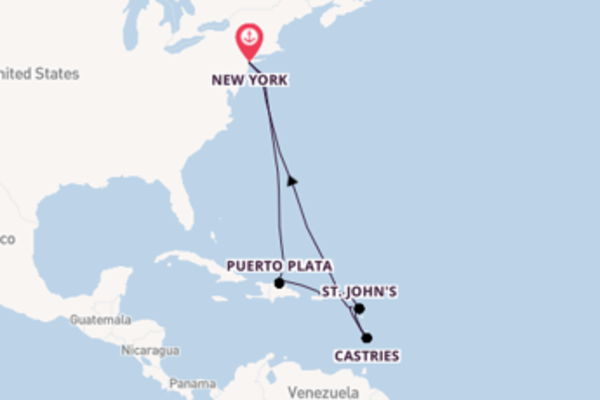 12 day expedition from New York
