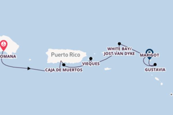 Cruise met SeaDream Yacht Club naar White Bay/Jost Van Dyke