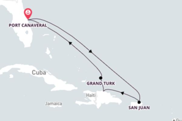 Incrível cruzeiro pelo Caribe Oriental com o Mardi Gras