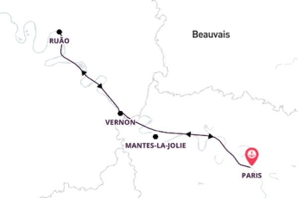 Viajando como realeza por Paris