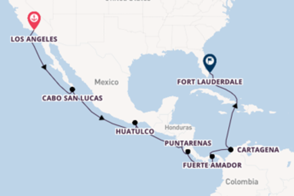 Vaar langs het prachtige Panamakanaal