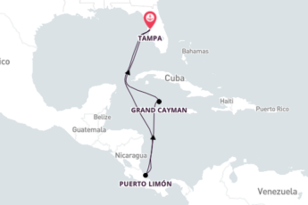 9-Day Journey to Beautiful Puerto Limón