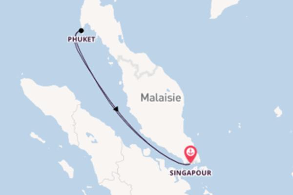 Sublime balade de 5 jours au départ de Singapour