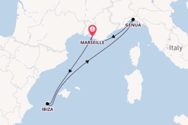 5-daagse cruise vanaf Marseille