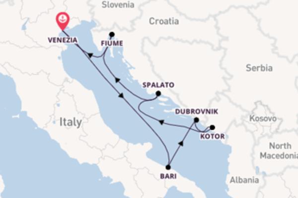 A bordo di MSC Opera fino a Venezia