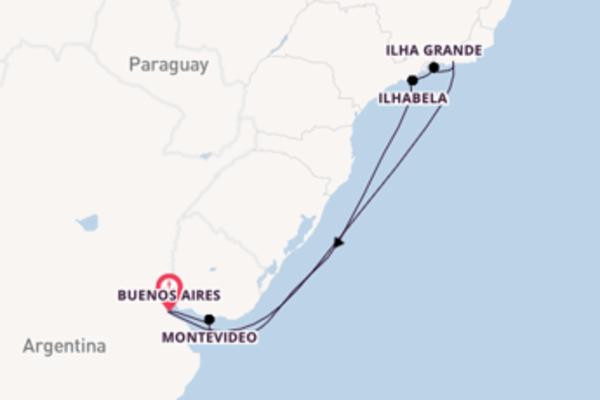 A bordo di Costa Pacifica fino a Buenos Aires
