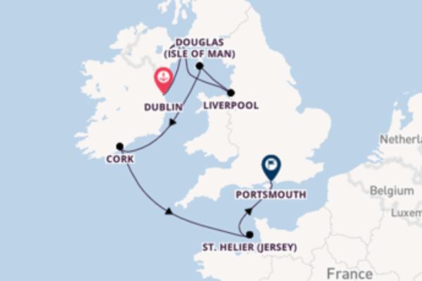 Maak een droomcruise naar Cork