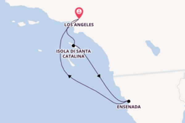 Lasciati conquistare da Isola di Santa Catalina partendo da Los Angeles