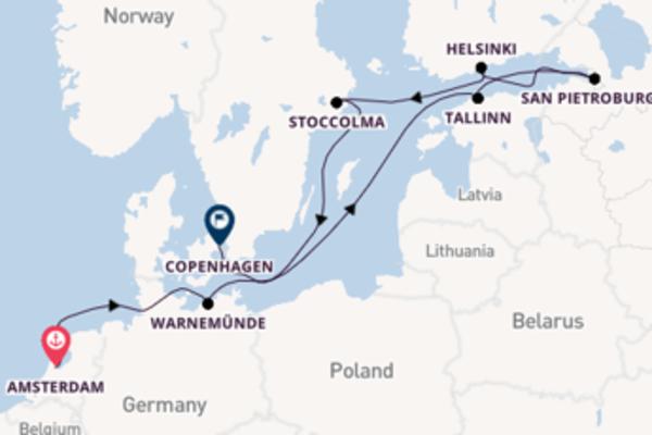 Viaggio di 11 giorni a bordo di Norwegian Jade