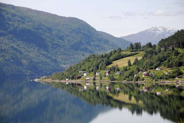 Нур-фьорд, Норвегия