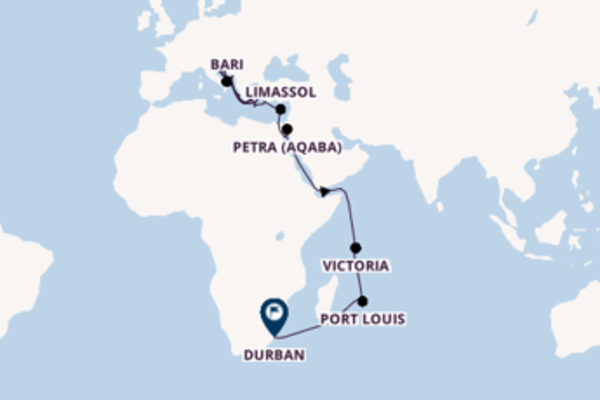 Journey with MSC Cruises from Venice