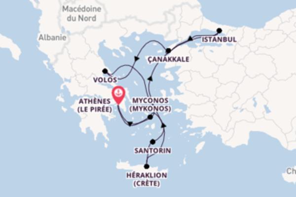 Croisière de 8 jours vers Le Pirée avec Celestyal Cruises