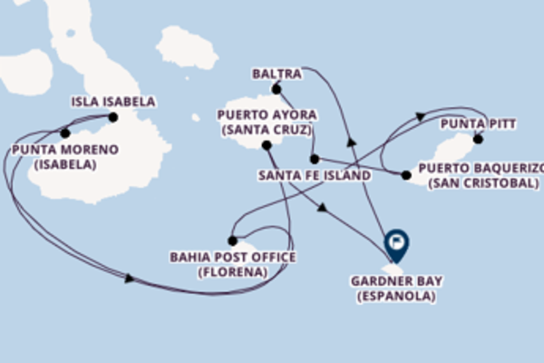 8 day sail from Galapagos Islands, Ecuador