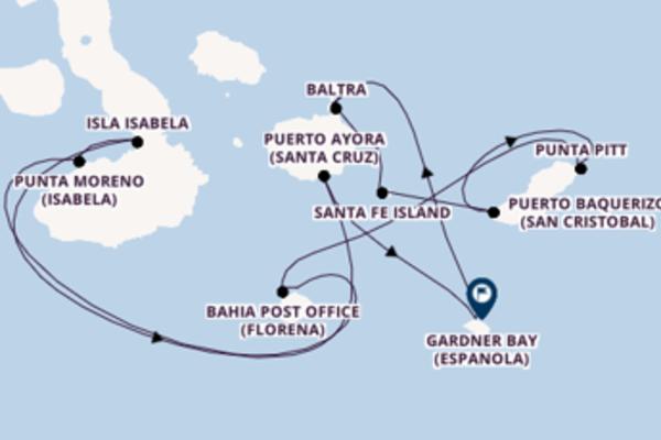 8 day sail from Galapagos Islands, Ecuador