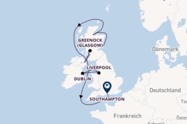 Von Edinburgh über Invergordon in 13 Tagen