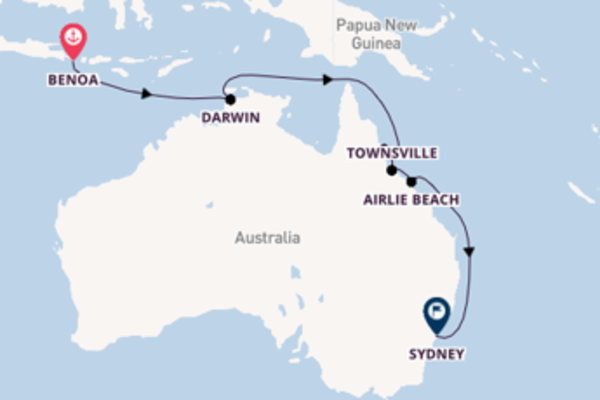 Cruising with Seabourn from Benoa to Sydney
