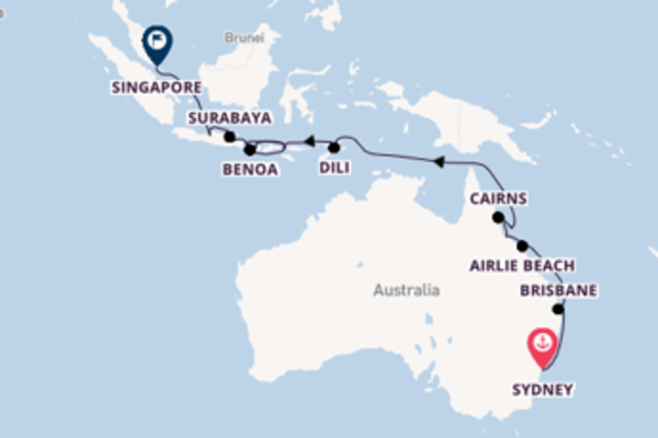 Vibrant trip from Sydney with Seabourn