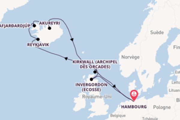 Élégante croisière avec MSC Croisières pendant 12 jours