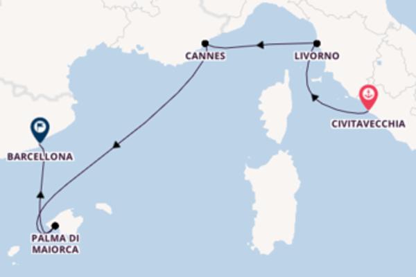 Fare rotta verso Cannes a bordo di Norwegian Epic