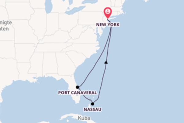 8 Tage unterwegs mit der Norwegian Getaway