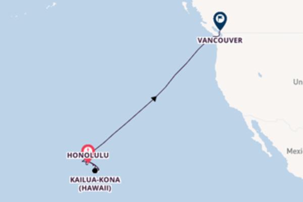 12 day journey on board the Norwegian Jewel from Honolulu