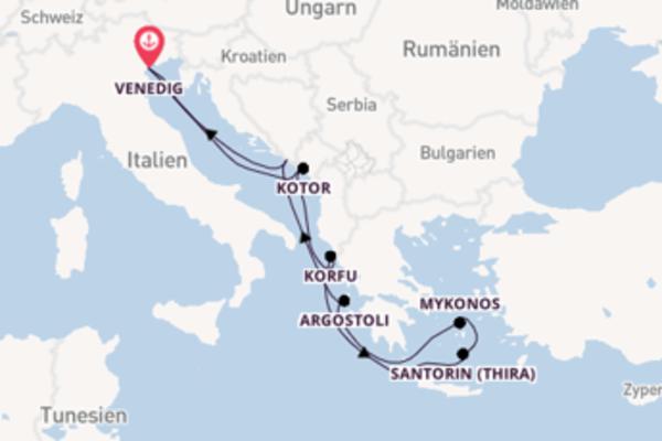 Fantastische Reise über Dubrovnik in 8 Tagen