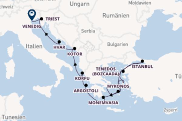 13 Tage Mittelmeer Reise
