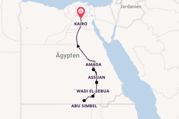 Auf dem Nil durch Ägypten