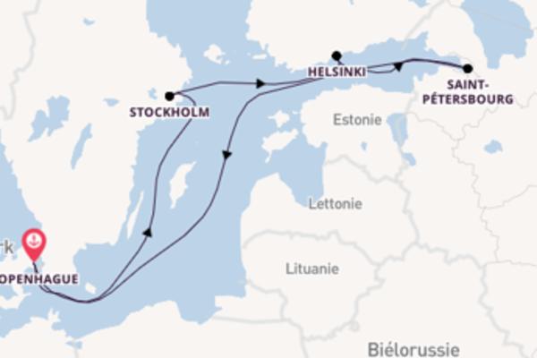 Croisière de 8 jours depuis Copenhague avec Royal Caribbean
