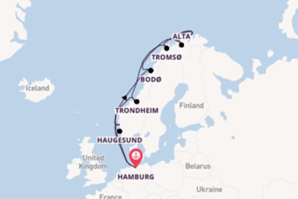 Cruise met AIDA naar Tromsø