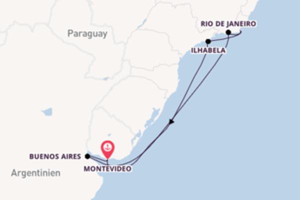 Aufregende Kreuzfahrt mit der Costa Pacifica
