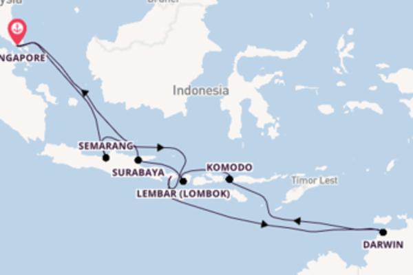Maak een droomcruise naar Bali