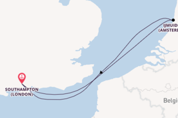 Cruising from Southampton via Ijmuiden ,