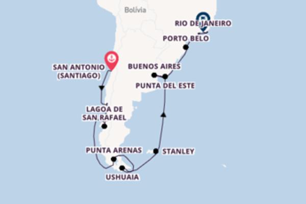 Sublime cruzeiro com a Oceania Cruises