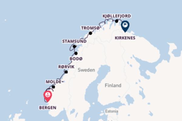 Ontdek Vardø, Noorwegen met Hurtigruten