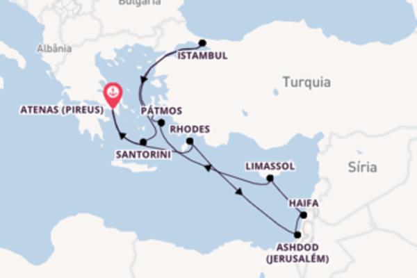 Navegue a bordo do Norwegian Getaway em 11 dias