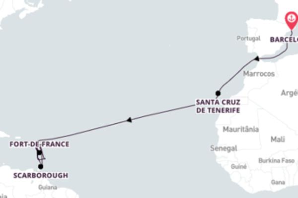 Incrível cruzeiro de 21 dias com a Costa Cruzeiros