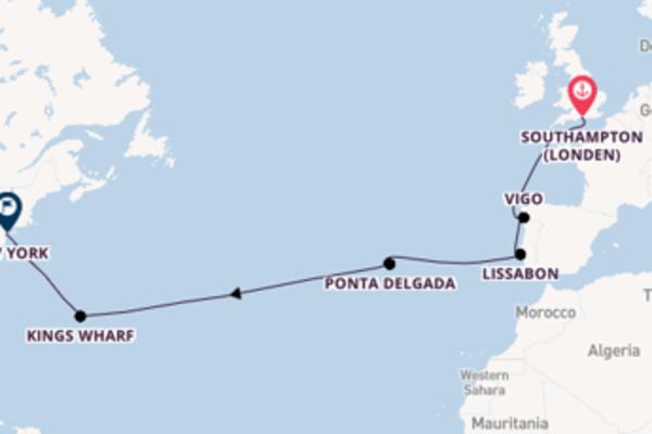 13-daagse reis aan boord van de Norwegian Epic