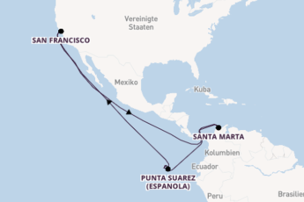 Erleben Sie Puerto Villamil (Isabela) auf der Celebrity Xploration