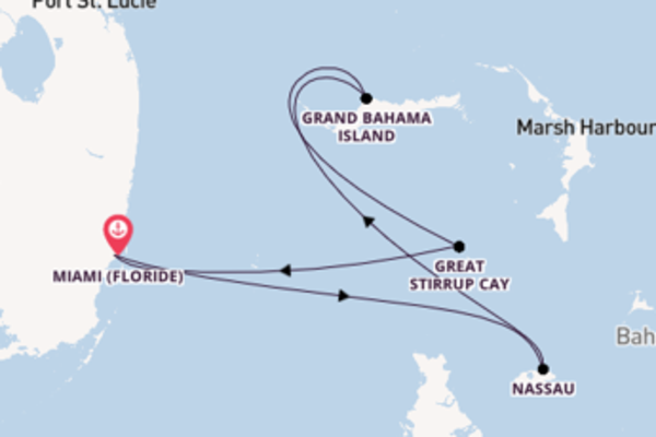 Croisière de 5 jours vers Miami (Floride) avec Norwegian Cruise Line