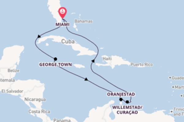 10 giorni verso Miami passando per George Town