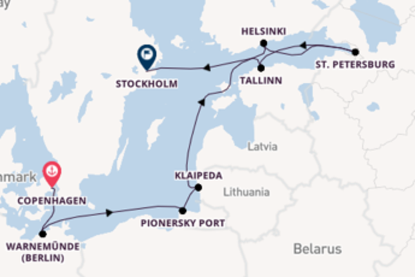 Vibrant expedition from Copenhagen with Norwegian Cruise Line