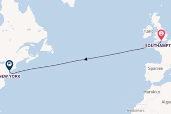 Über den Transatlantik nach New York