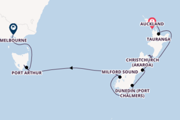 Cruising with Silversea from Auckland to Melbourne