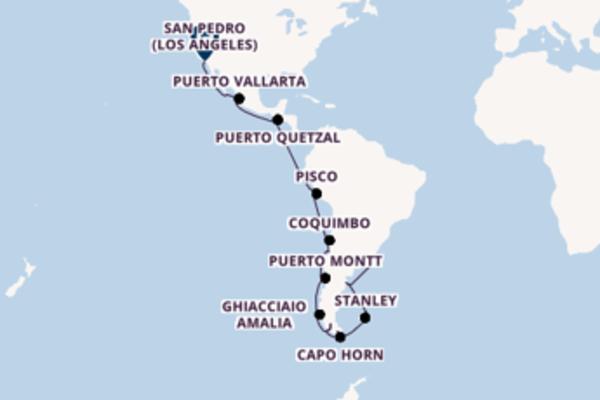 Da Buenos Aires a San Pedro (Los Angeles) in 33 giorni