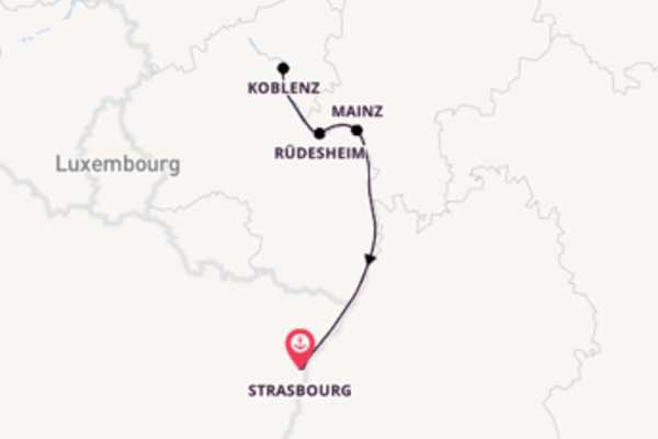 Cruise with CroisiEurope from Strasbourg