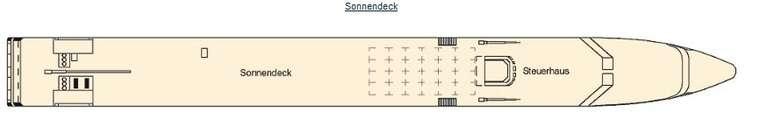 La Bohème Deck 3 Sonnendeck